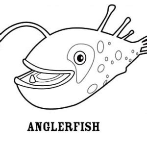 coloring pages of angler fish angler fish between seaweed coloring pages best place to