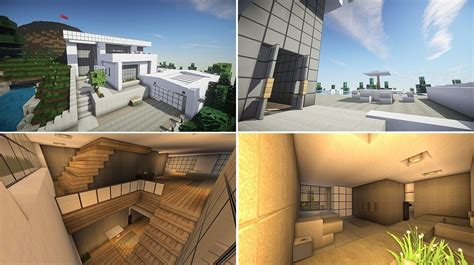 decoration maison minecraft interieur top 5 des maisons modernes minecraft minecraft aventure