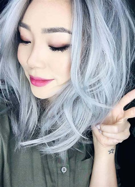 best gray hair color ideas hair tips for going gray 85 silver hair color ideas and tips for dyeing