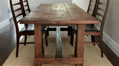 build a dinner table build a farmhouse dinner table that s tough to up