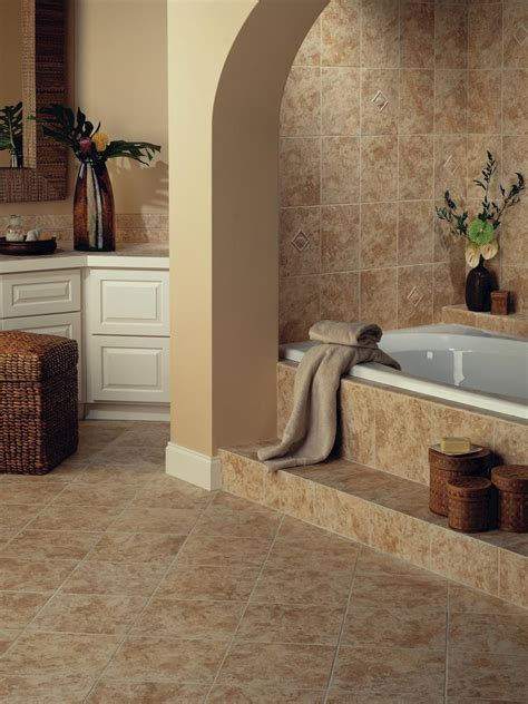 ceramic tile bathroom floors hgtv