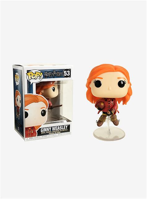 Funko Pop Original Harry Potter Ginny Weasley 46 funko harry potter pop ginny weasley on broom vinyl figure topic