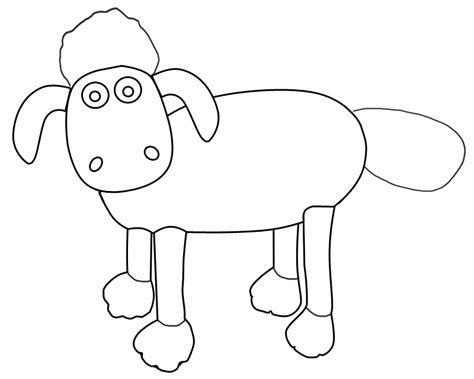 Shaun The Sheep Coloring Pages Sheep Coloring Pages Shaun The Sheep Coloring Pages To by Shaun The Sheep Coloring Pages