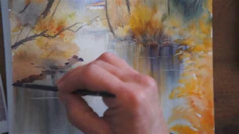 tutorial youtube gratuit d 233 mo aquarelle reflets de d 233 cembre watercolor tutorial