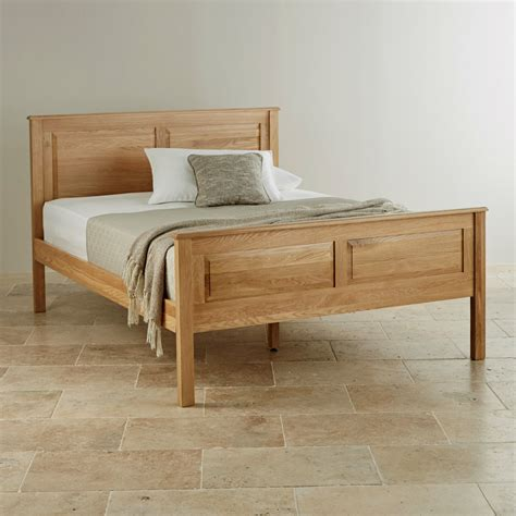 oak king size bed rivermead king size bed in natural solid oak