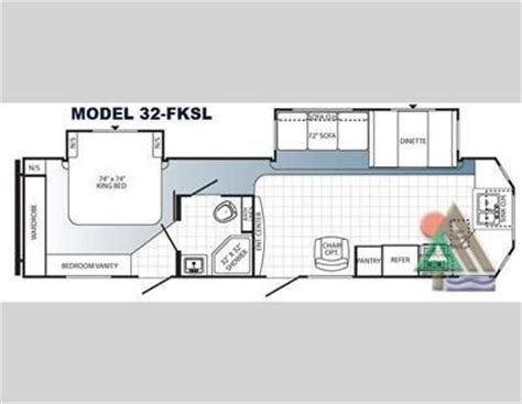 cing trailer floor plans travel trailer with a king bed slide out one of our