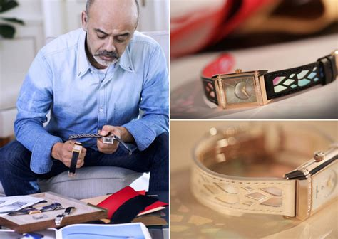 Christian Louboutin And David Lynch Collaboration In by Christian Louboutin X Jaeger Lecoultre Collaboration