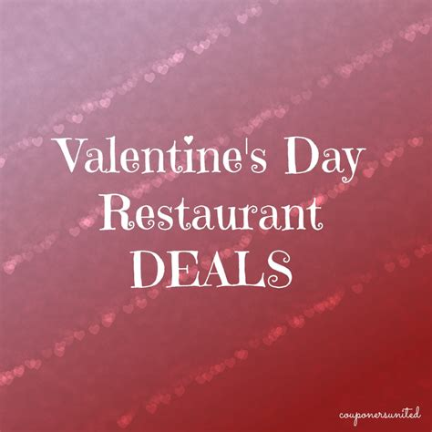 day restaurant promotions s day restaurant deals