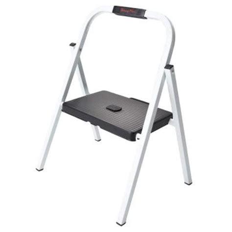 4 Step Steel Mini Step Stool Ladder by Mini 1 Step Steel Step Stool Ladder Hsp 1g The