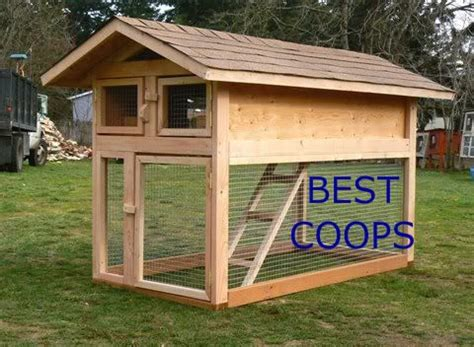 Handmade Chicken Coops - chicken coop plan 5