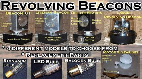 rotating beacon light for outdoor lighthouse 17 best images about lawn and garden lighthouses on