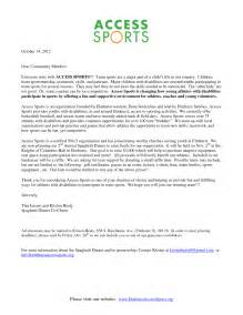 Donation Letter Sle For Sports Team Sle Donation Request Letters For Sports Teams Corporate Donation Guide 20161000 Images