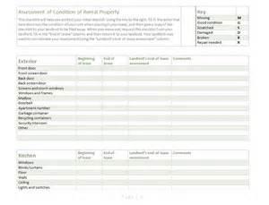 rental property checklist template rental property inspection checklist template