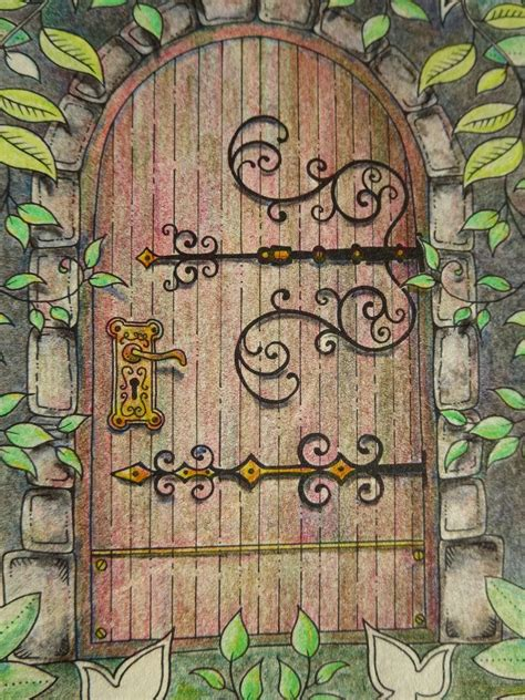 secret garden coloring book review for pencils my secret garden colouring book part 1