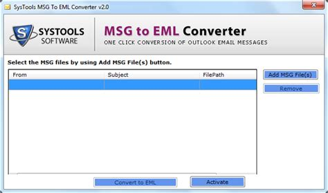 email format eml msg to eml converter