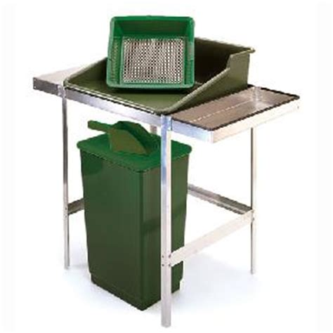 plastic potting bench potting station with all plastic accessories from
