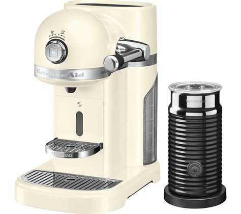 Nespresso Coffee Machine buy nespresso by kitchenaid artisan 5kes0504bac coffee