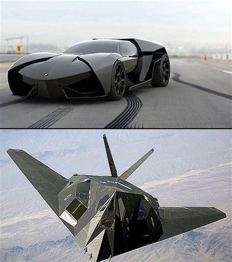 Lamborghini F 117 by F 117 Nighthawk Inspired Lamborghini Ankonian Techeblog