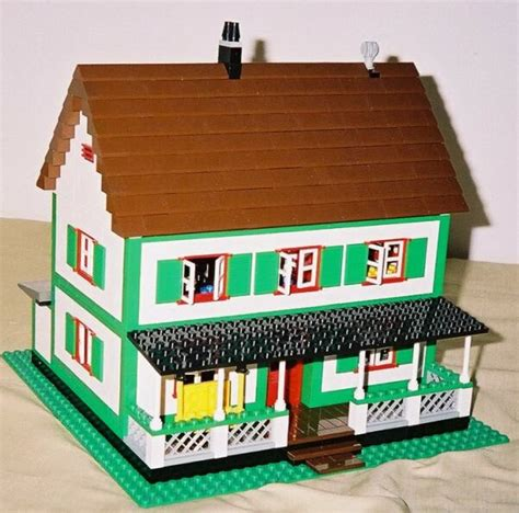 wood lego house lego instructions for farmhouse model by lions gate models