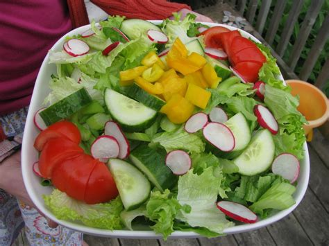 angie s healthy living lets a salad
