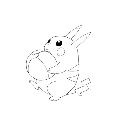 pikachu coloring pages free and pikachu coloring pages