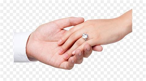 engagement ring wedding ring marriage hand the bride and groom hand in hand png download 730