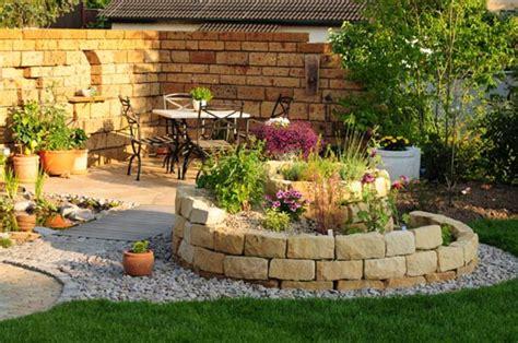 Gartengestaltung Mit Blumen by Natursteinmauern