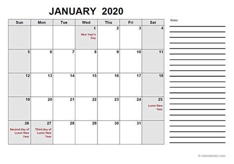 hong kong  calendar  template  printable templates