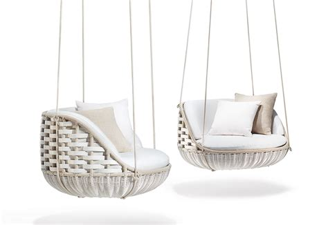 dedon swing world s first floating outdoor living room by dedon