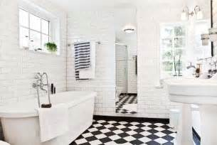 Black White Bathroom Tiles Ideas lulu belle design black tile