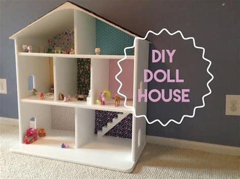 build doll house how to build a wooden dollhouse youtube
