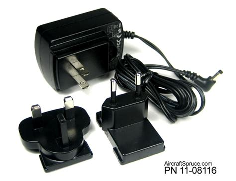 ace hardware headset av8or ace ac 120 220v adapter from aircraft spruce europe