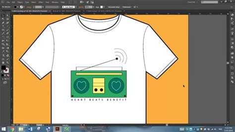 design shirt on illustrator design a t shirt in adobe illustrator youtube