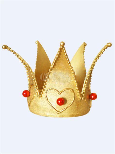 corona cruel reina roja halloween alicia en el pa 237 s de las maravillas la corona de cosplay de reina roja milanoo com
