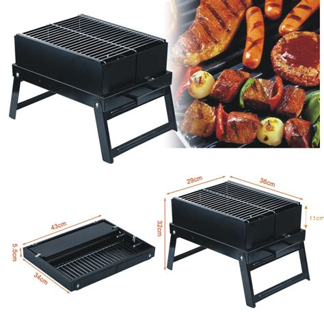 Portable Foldable Bbq Charcoal Grill Barbecue Smoker Backyard Bbq Grill Company