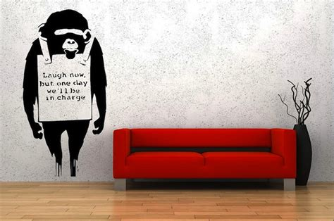 famous wall paintings banksy s famous street art inside your home