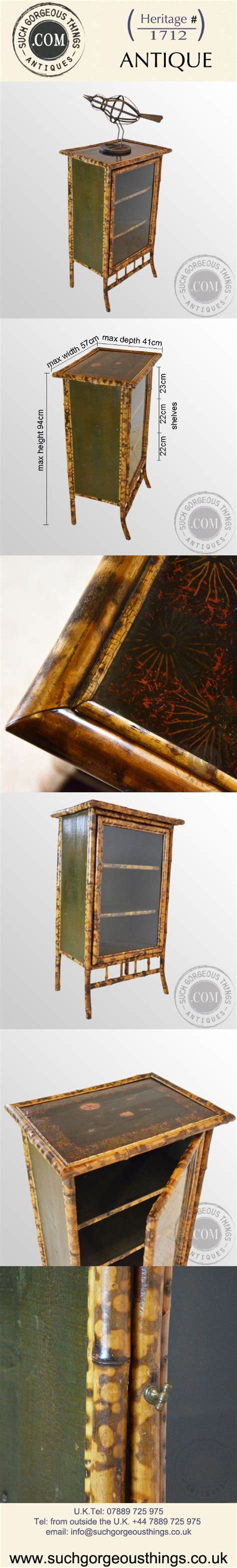 bamboo cabinet chinese lacquer display cupboard antiques antique english victorian bamboo cabinet chinese lacquer