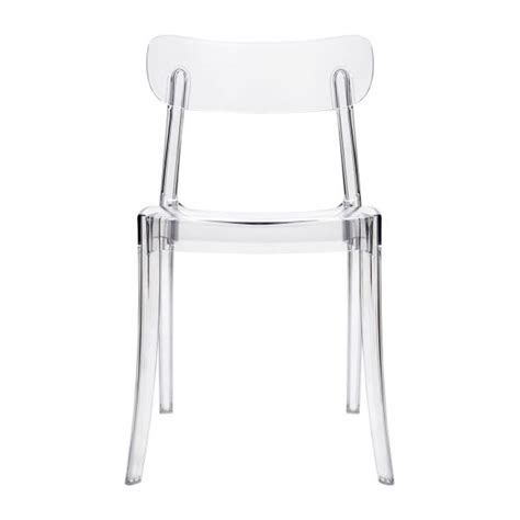 Chaise Plastique Transparent by Chaise Transparente En Plastique