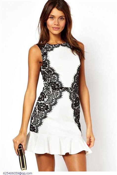 Dress Vintagesexy Dressmini Dressdress plus size dress summer vintage white black patchwork