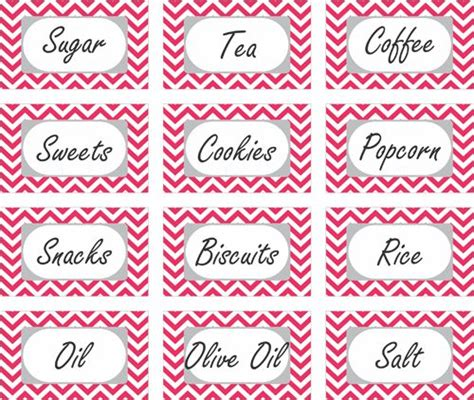 printable kitchen tags click here to download this free printable label if you