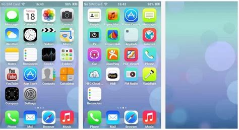 themes for android ios ios 7 theme for android phones online inspirations