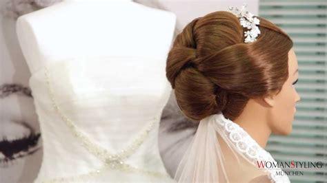 Hochzeitsfrisur M Nchen by Brautfrisur Mit Schleier Styling M 252 Nchen