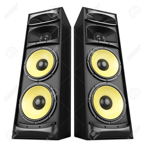 Speaker Untuk Sound System speakers clipart sound system pencil and in color