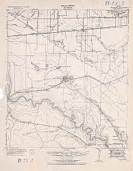 Fort bend county texas historical topographic map