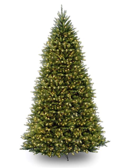 12ft pre lit dunhill fir artificial christmas tree hayes