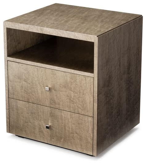 black key angle bedside table contemporary
