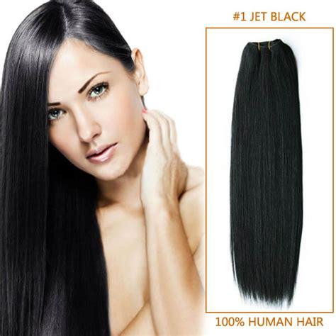 wiki how to get jet black hair 28 inch 1 jet black straight brazilian virgin hair wefts