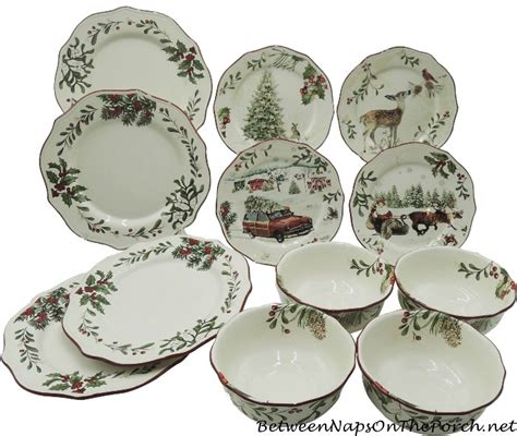 better homes and gardens christmas dishes