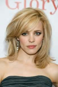 hairstyles medium length with wispy fringe and slightly curly 25 hairstyles to slim down round faces cherry blossoms