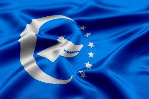 turk bayragi ve bozkurt turk birligi bayragi by kontrgerilla on deviantart